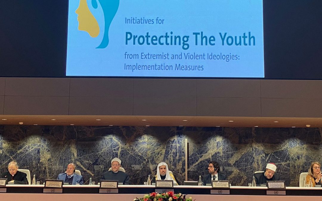 "The Geneva Declaration ""adopts 30 initiatives with their implementation mechanisms to protect young people against the extremist idea"