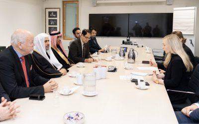 في العاصمة هلسنكي ؛ وزيرة الداخلية الفنلندية تلتقي معالي الشيخ د.محمد العيسى