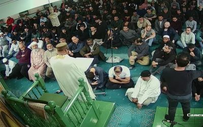 MWLLO provides first Friday Khutbah with Sign Language Interpretation